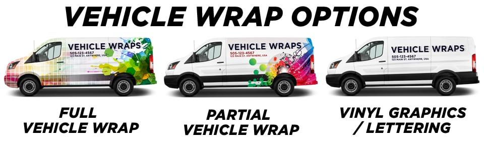Inland Empire Vehicle Wraps & Graphics vehicle wrap options