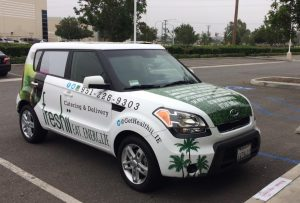 custom vehicle wrap hood wrap